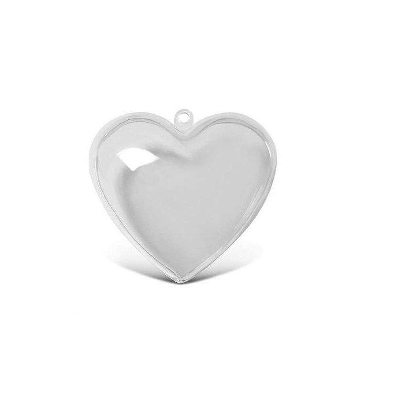 3D cuore apribile in plastica