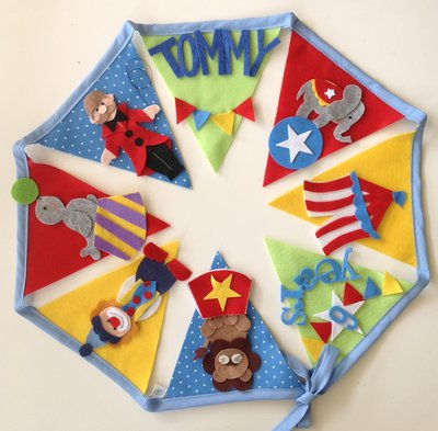 The bunting circus