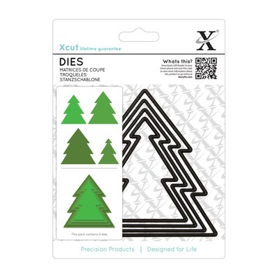 Set fustelle Xcut - Christmas Tree