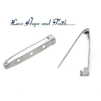 Base spilla (45x5mm) (cod.14304)