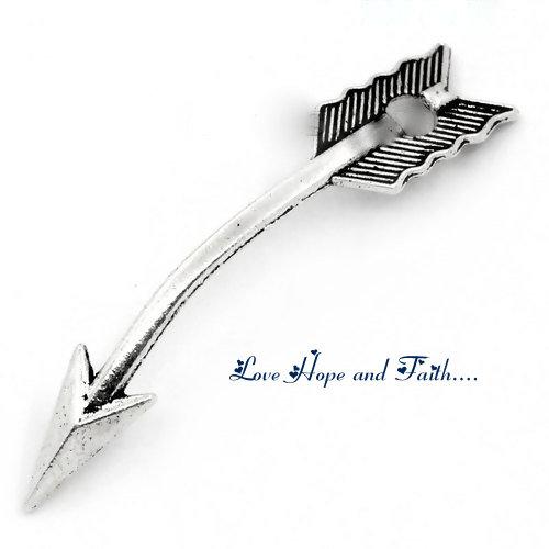 """Charm ciondolo """"Freccia"""" (3,5x7,0mm) (cod.24190)"""