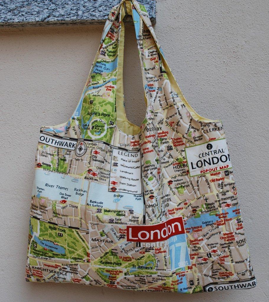 Shopper reversibile London!
