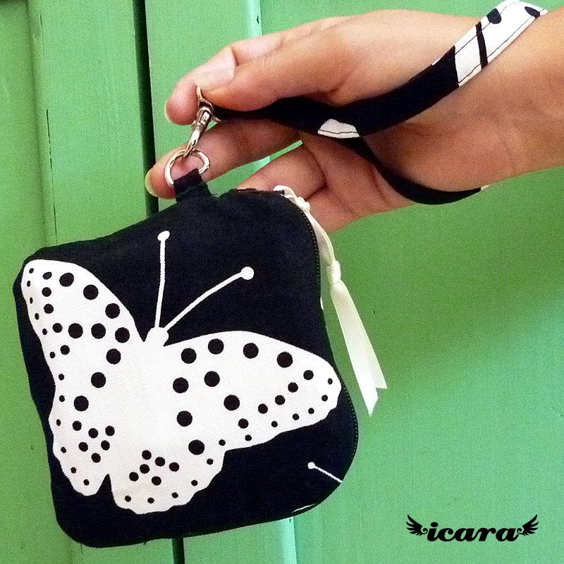 Pochette farfalla