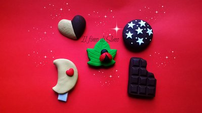 calamite biscotti in fimo