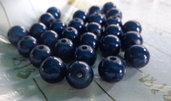28 Perline MAGICHE in acrilico color BLU NOTTE