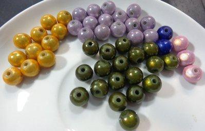 49 Perline MAGICHE in acrilico COLORI ASSORTITI