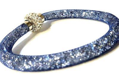 bracciale stardust blu argento