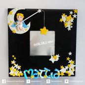 specchio decorativo con nome personalizzato per camera dei bambini
