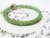 bracciale stardust verde