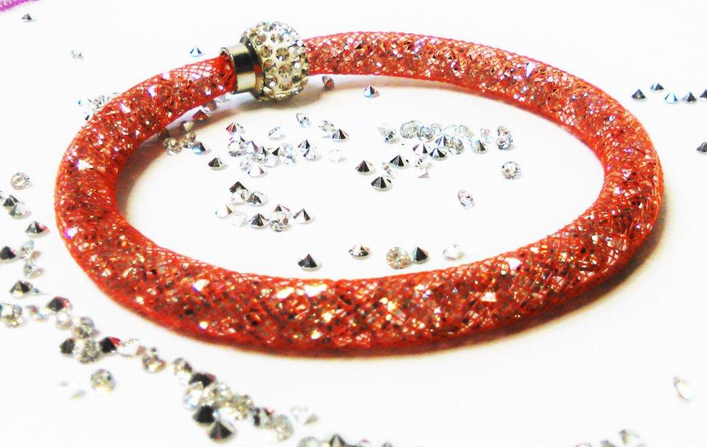 bracciale stardust rosso