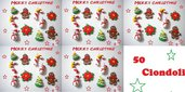 lotto 50 ciondoli in fimo Natale come da foto handmade charms