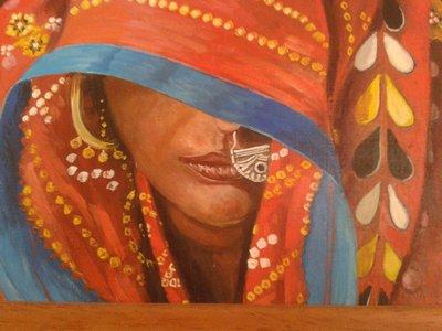 quadro olio su tela