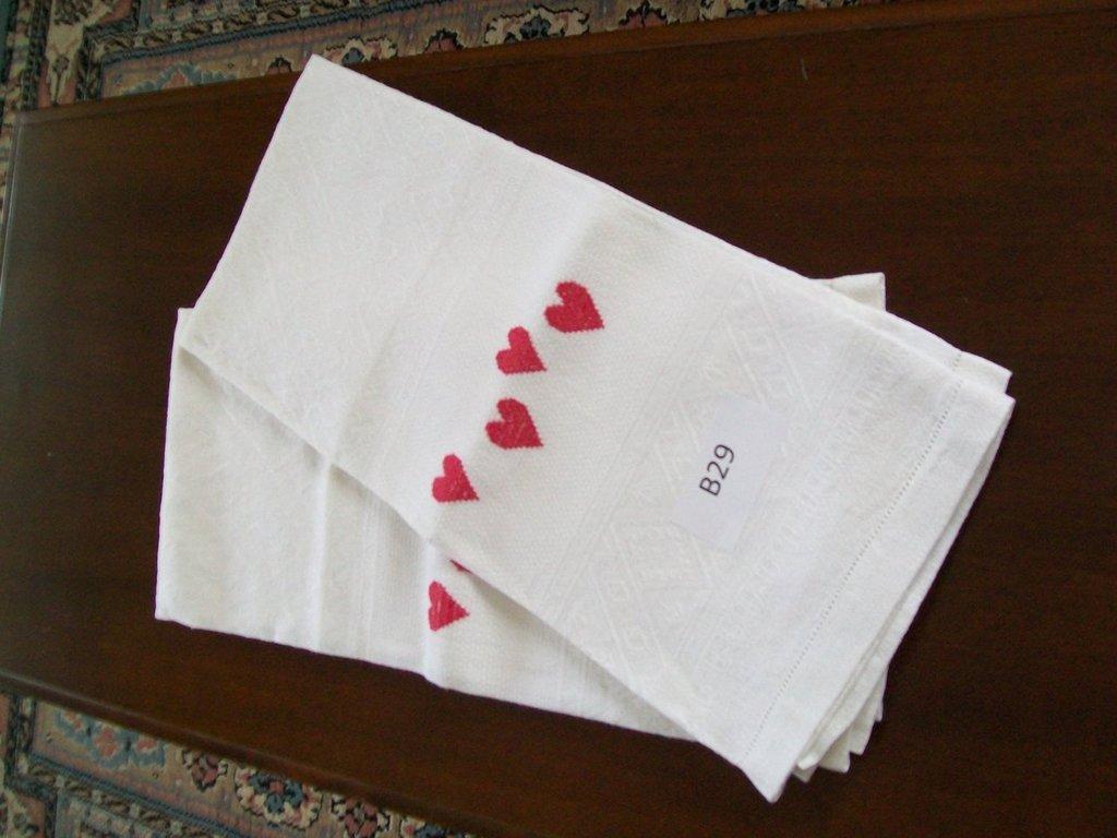 B29 - Asciugamani in lino