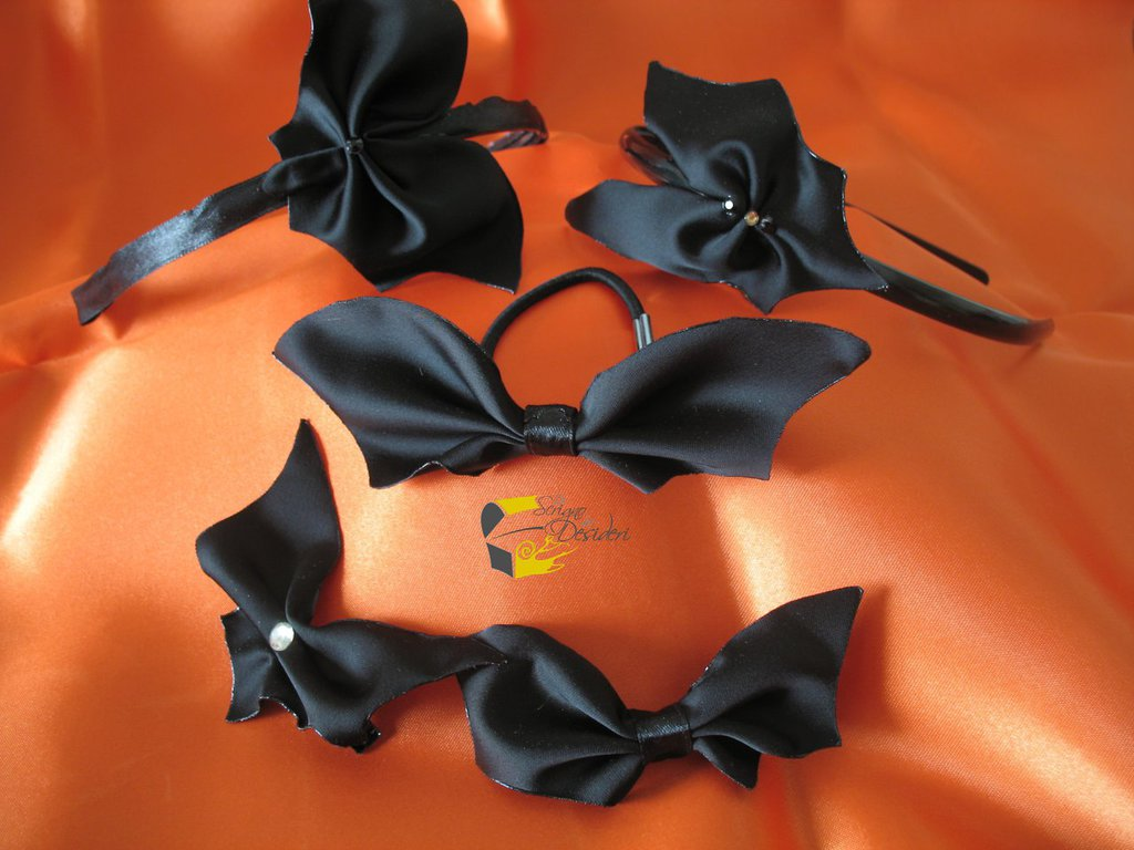 Speciale Halloween: kit di accessori per capelli