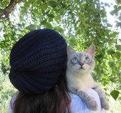 Cappellino in lana all'unicnetto