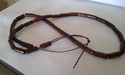 Collana in legno