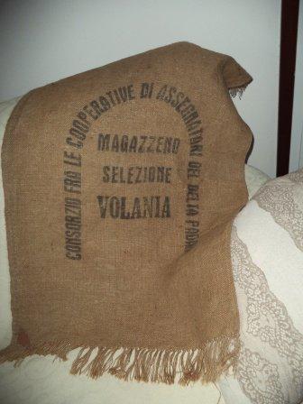 Tappeti Naturali ricavati da vecchi sacchi di Juta