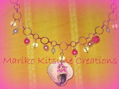 Collana SIRENA conchiglia rosa