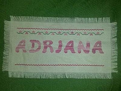 "SAMPLER ""ADRIANA"""