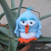 Crochet Amigurumi Owl - Gufo