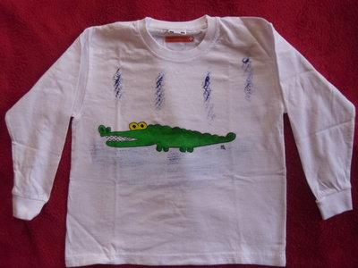 magliette 3/4 anni manica lunga