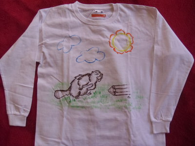 magliette 7/8 anni manica lunga