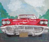 Auto americane anni 50. Che fascino e che grinta !!