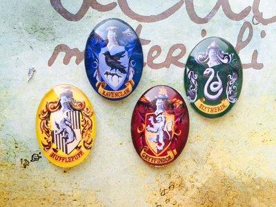 "Lotto 4 cabochon ""Harry Potter"" mod.059"