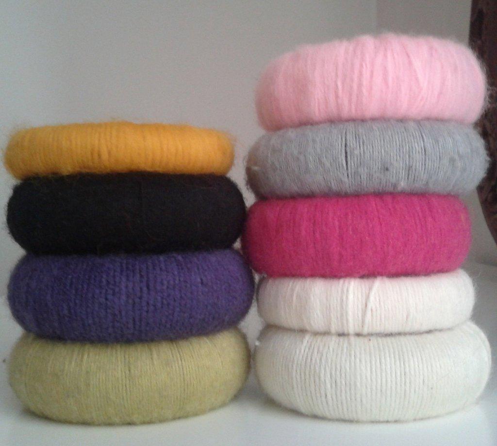 Bracciali in lana