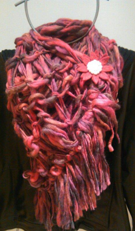 Sciarpone in lana merino