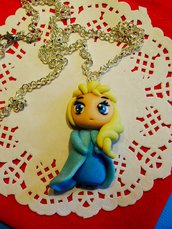 Collana Frozen Principesse Fimo