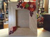 Cornica decorata in legno