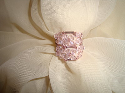 """Anello """"Think pink"""""""