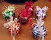 Sfere per l'albero di Natale - addobbi natalizi