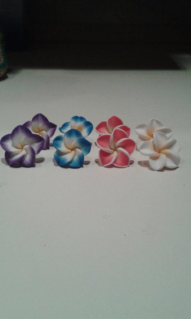 fiori in fimo