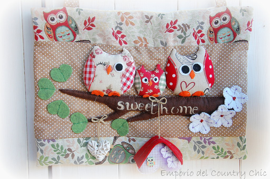 COPRIFORNO LOVELY  OWLS FAMILY