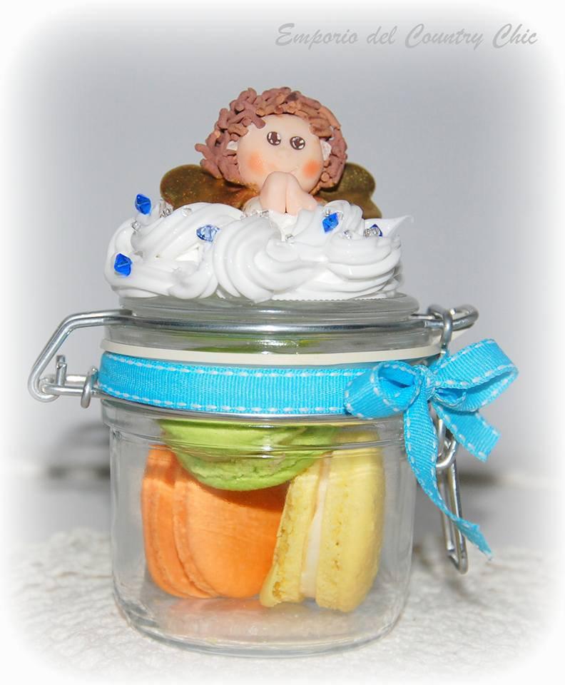 Barattoli in vetro decorati feste bomboniere di - Barattoli vetro decorati ...