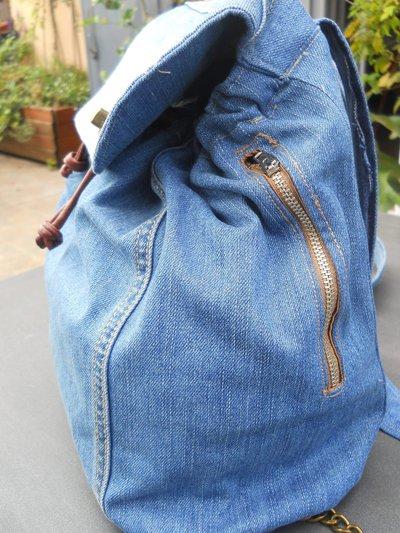 Zainetto in tessuto jeans di recupero. - Donna - Borse - di Le cose ... ebbbcb520fa