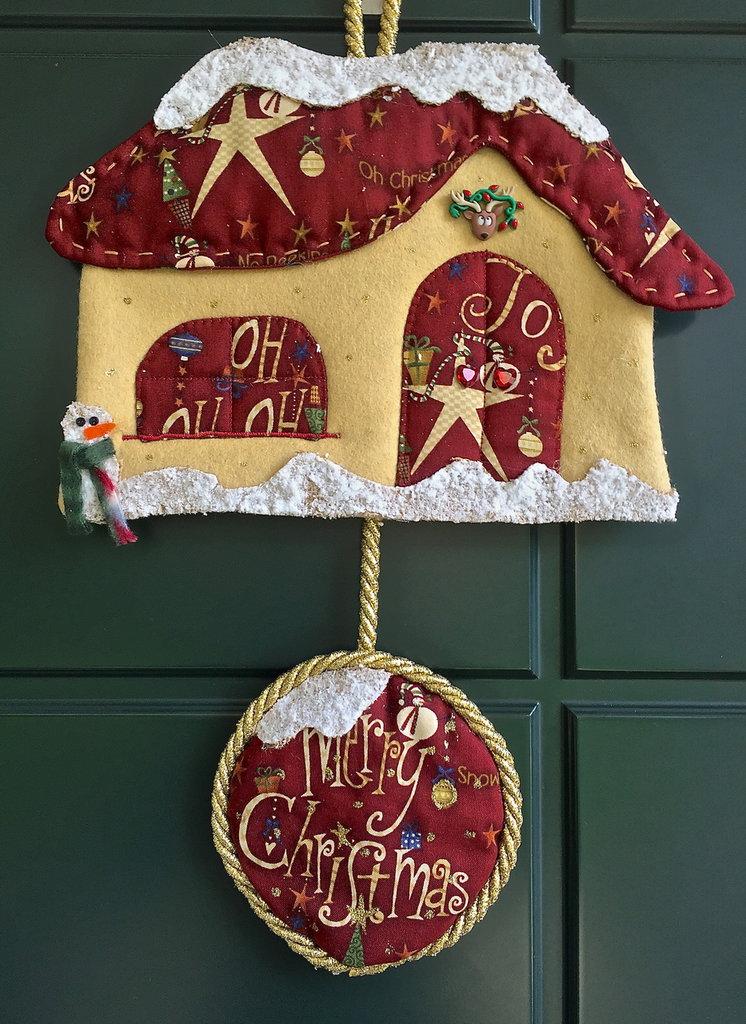 Natale - Casetta fuori porta Merry Christmas