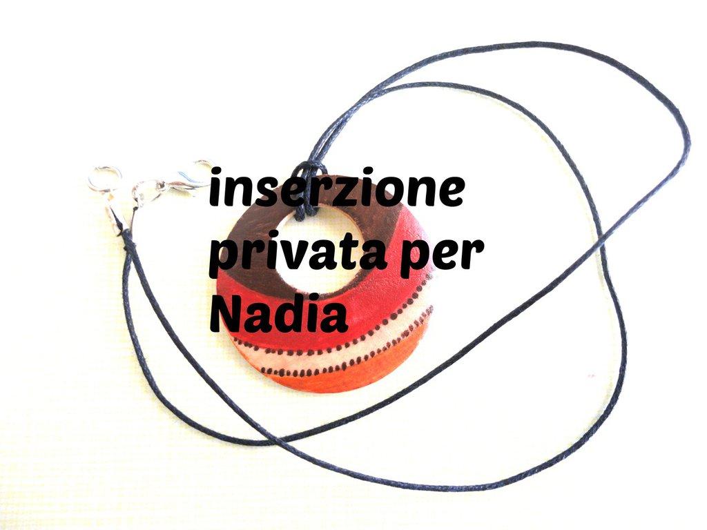 Inserzione privata per Nadia