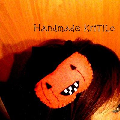 cerchietto zucca halloween HandmadeKriTilo