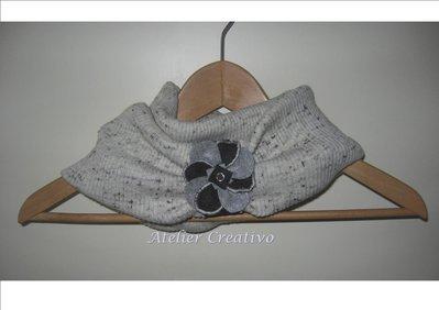 SALDI - Scaldacollo in tessuto di maglia