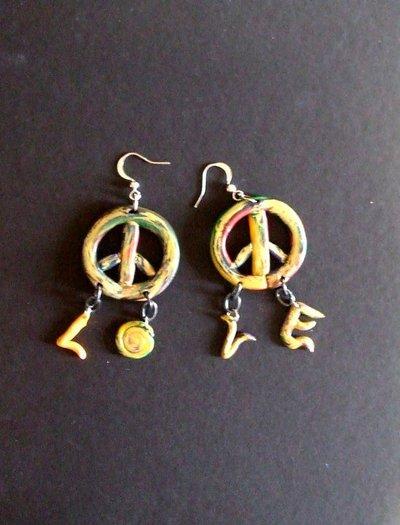 Orecchini Hippie.