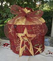 Natale - porta panettone STELLA