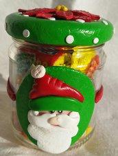 Barattolo Babbo Natale