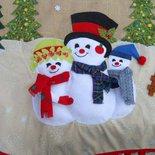 Tappeto copri base per l'albero di Natale