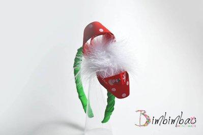 Cerchietto cerchiello headband regalo natale natalizio accessori capelli bambina bimba