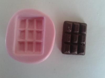 Stampo barretta di cioccolato