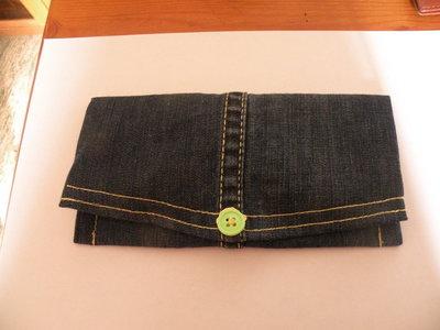 portafoglio jeans donna