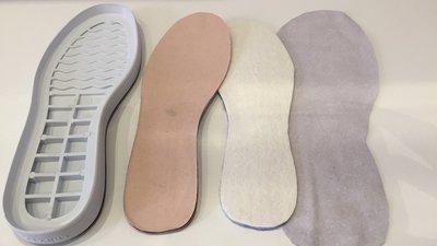 Suole in gomma per scarpe/stivali uncinetto